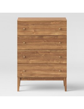 Siegel 4 Drawer Chest Walnut   Project 62™ by Shop This Collection