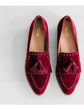 Velvet Loafer Shoe by Mi.I M
