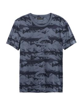 Mountain Camo T Shirt by Banana Repbulic