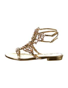 Emily Embellished Sandals W/ Tags by Marchesa