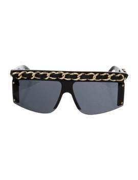 Vintage Chain Link Sunglasses by Chanel