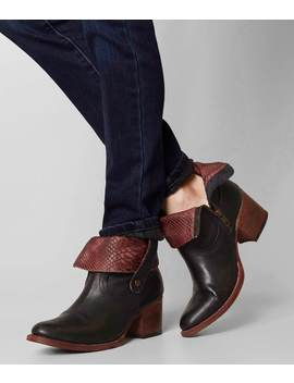 Saban Leather Ankle Boot by Freebird By Steven