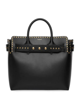 The Medium Studded Leather Triple Stud Belt Bag by Burberry