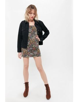 Uo Victoria Jacquard Mini Dress by Urban Outfitters