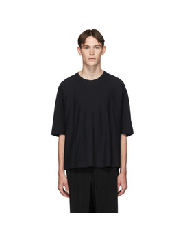 Black Basics Release T T Shirt by Homme PlissÉ Issey Miyake