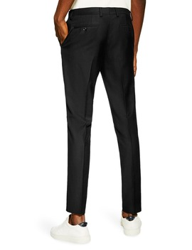 Skinny Fit Textured Pants by Topman