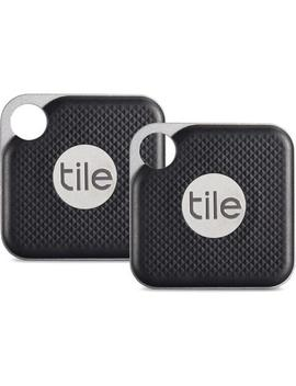 Tile Mate Pro Bluetooth Tracker (2 Pack/Black) by Tile