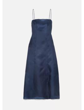 Noche Silk Organza Maxi Dress by Albus Lumen