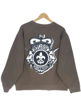 Vintage Stussy Sweatshirt by Stussy  ×