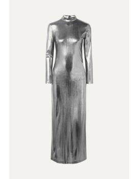Radzville Lamé Maxi Dress by Bella Freud