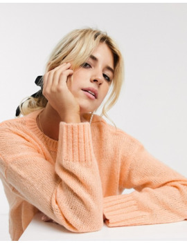New Look Boxy Jumper In Apricot by New Look