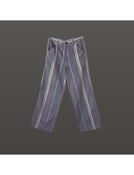 1999 Cd Ghp Purple Twill Trousers by Comme Des Garcons Homme Plus  ×