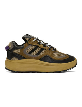 Brown Jet Turbo Sneakers by Eytys