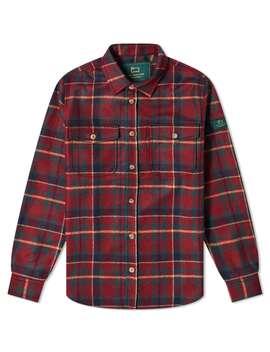 Aimé Leon Dore X Woolrich Plaid Button Shirt by Aimé Leon Dore