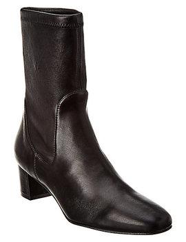 Stuart Weitzman Ernestine Leather Bootie by Stuart Weitzman