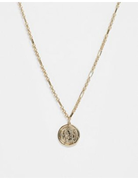&Amp; Other Stories Medallion Necklace In Gold by & Other Stories