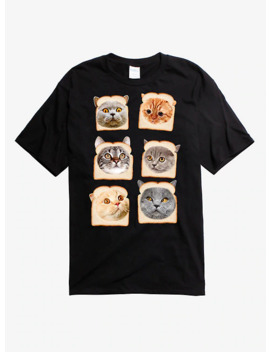 Cats In Bread T Shirt by Hot Topic