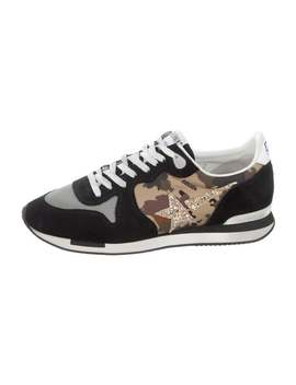 Running Suede Low Top Sneakers by Golden Goose
