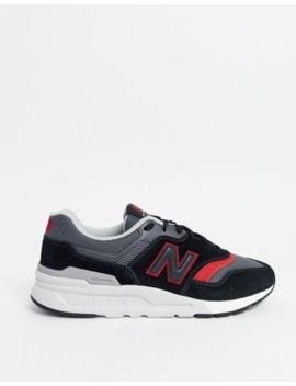 New Balance – 997 – Schwarze Sneaker, Mtl{[#1]}Mb by Asos