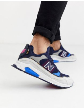New Balance X Racer Cordura – Sneaker In Blau by Asos