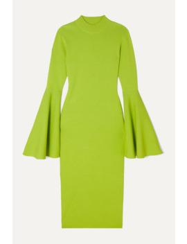 Giana Stretch Knit Midi Dress by Solace London