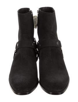 Wyatt Harness Boots W/ Tags by Saint Laurent