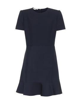 Wool Blend Minidress by Stella Mc Cartney