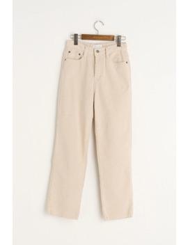 Cord Cotton Jean, Cream by Olive