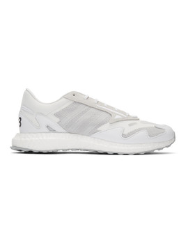 White Rhisu Run Sneakers by Y 3