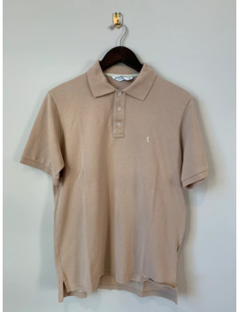 Yves Saint Laurent Tan Polo by Yves Saint Laurent  ×