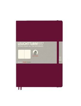 Leuchtturm1917 Composition (B5) Notebook Dotted Softcover Port Red by Leuchtturm1917