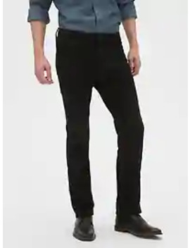 Slim Fit Black Ripped Jean by Banana Repbulic