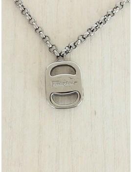 Salvatore Ferragamo ◆ Necklace / Silver /Salvatore Ferragamo/ Salvatore Ferragamo / Rose /41cm by Rakuten Global Market