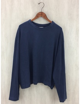 Willy Chavarria ◆ Long Sleeves T Shirt /S/ Cotton /Nvy by Rakuten Global Market