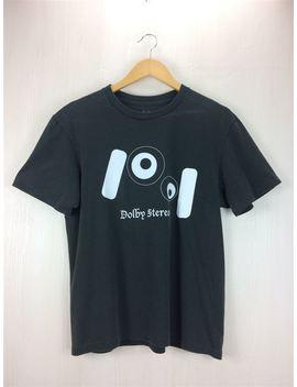 Julien David ◆ T Shirt /Xs/ Cotton /Blk/ Plain Fabric / Black / Print /Dolby Stereo/ Wearing Feeling Existence by Rakuten Global Market