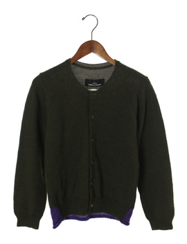 Tricot Comme Des Garcons ◆ Cardigan (Thick) /  / Wool /Grn by Rakuten Global Market