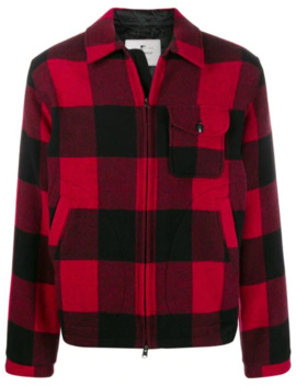 Check Pattern Jacket by Woolrich