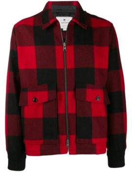 Check Pattern Shirt Jacket by Woolrich