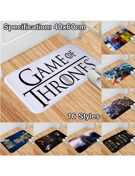 Game Of Thrones Season 8 40x60cm Floor Mat Non Slip Doormat Bathroom Kitchen Bedroom Toilet Carpet Mat Car Hallway Carpet Home Decor by Wish