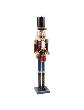 "North Pole Trading Co. 36"" Drummer Hand Painted Nutcracker by North Pole Trading Co"