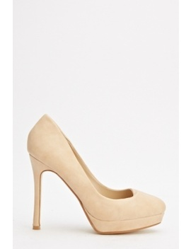 Classic Platform High Heels by Everything5 Pounds