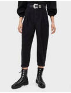 Luźne Sztruksowe Spodnie Typu Slouchy by Bershka