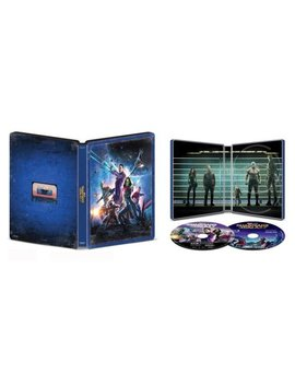 Ay/Blu Ray] [Only @ Best Buy] [2014] by Guardians Of The Galaxy [Steel Book] [Digital Copy] [4 K Ultra Hd Bl