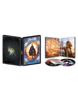 Ay/Blu Ray] [Only @ Best Buy] [2016] by Doctor Strange [Steel Book] [Includes Digital Copy] [4 K Ultra Hd Bl