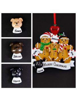 Personalized Dog Add On To Any Ornament | Dog Face Add On | Family With A Dog | Add Your Pet To Your Family Ornament by Etsy