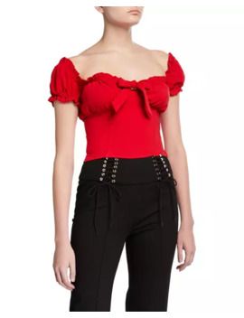 Naomi Tie Front Corset Top by I.Am.Gia