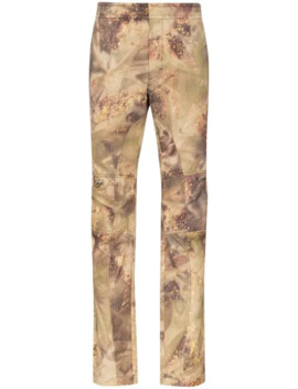 Gaiter Camouflage Print Trousers by 1017 Alyx 9 Sm