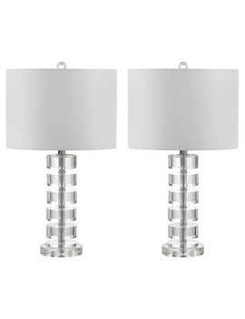 Frances Clear Crystal Table Lamp Set Of 2   Safavieh by Safavieh