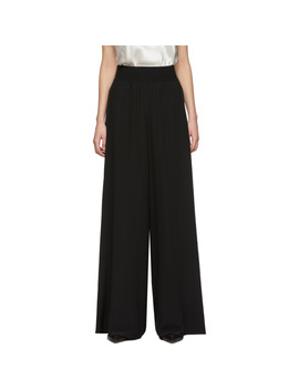 Black Huland Trousers by Joseph