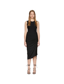 Black Sleeveless Mid Dress by Altuzarra